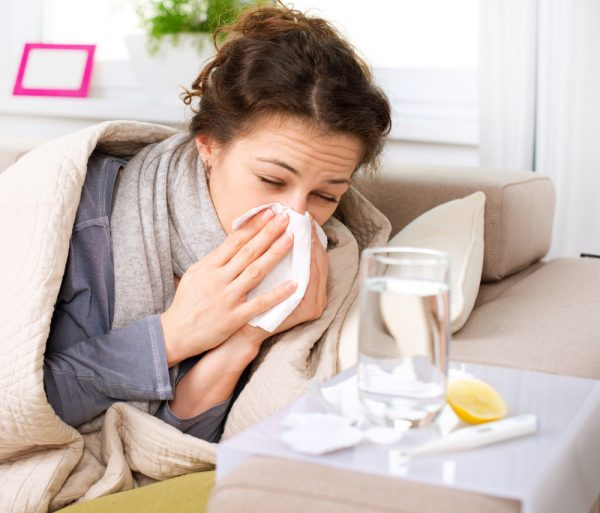 проявления простуды