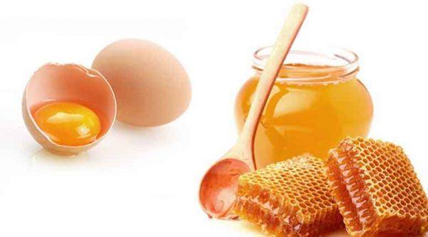 Желток и мёд