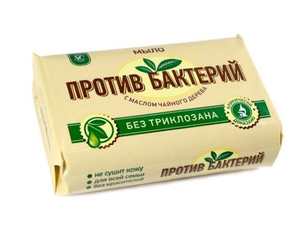 Антибактериальное мыло с маслом чайного дерева
