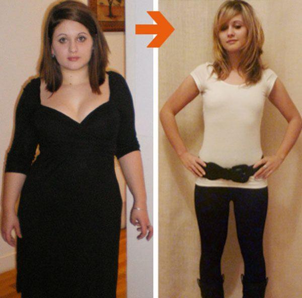 фото до и после приёма эфирных масел для похудения