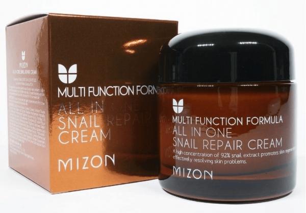 Крем с экстрактом слизи улитки от Mizon