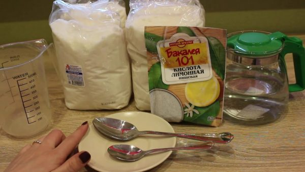 Набор для приготовления сахарной пасты с лимонной кислотой