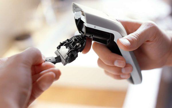 Откидная головка машинки