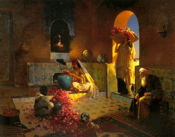 Процесс создания ароматических масел в старину