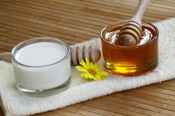 сливки и мёд