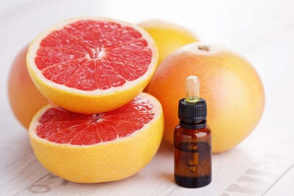 Эфир грейпфрута и фрукты