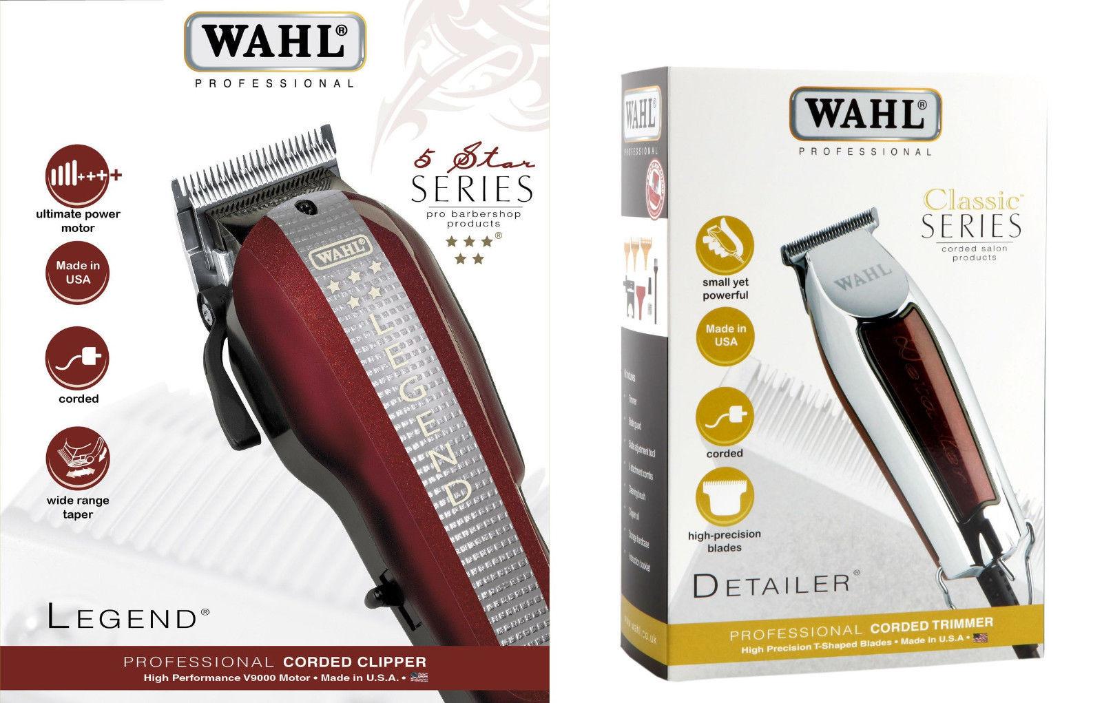 Машинки для стрижки волос Wahl