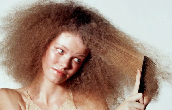 Статическое электричество в волосах