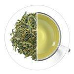 Зелёный чай в чашке