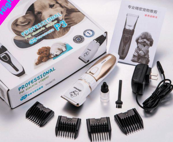 Комплект профессиональной машинки для стрижки собак
