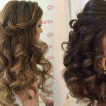 Идеи причёсок на накрученные, утюжком, волосы