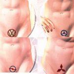 Логотипы автомобилей для мужской интимной стрижки