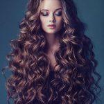 Локоны утюжком на волосы ниже талии