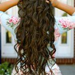Мелкие кудри на волосы ниже талии