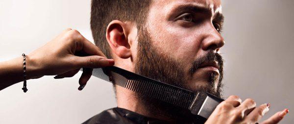 Стрижка длинной бороды