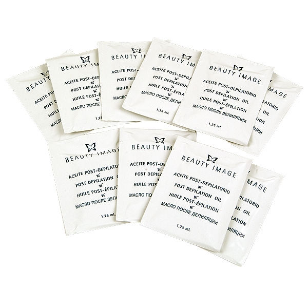 Салфетки для удаления остатков воска с кожи