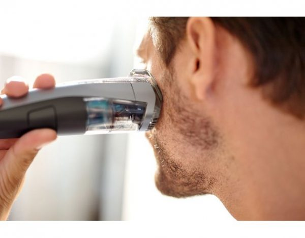 Триммер с системой вакуумного удаления волосков