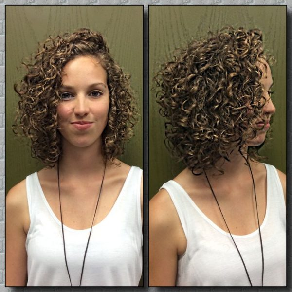 Укладка диффузором на вьющиеся волосы