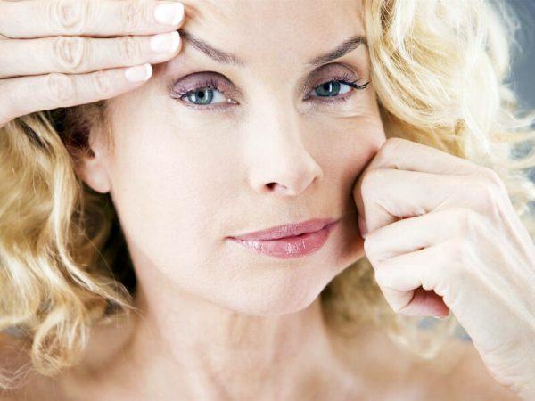 Сниженный тонус кожи лица
