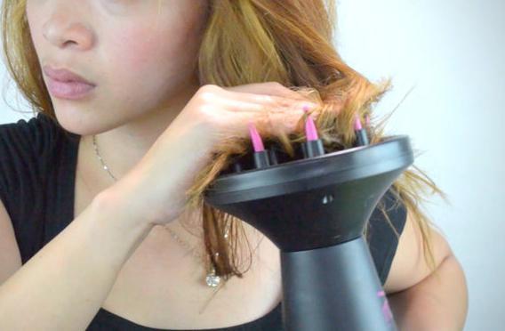 Волосы в чаше диффузора
