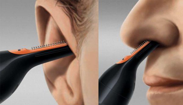 Насадка для обработки ушей и носа