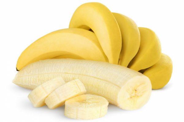 Бананы целые и нарезанные