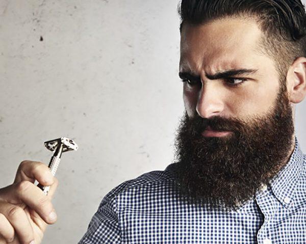 Густая мужская борода