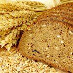Цельнозерновой хлеб, порезанный кусочками