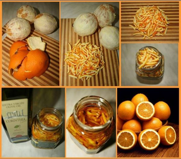Приготовление эфирного масла апельсина дома