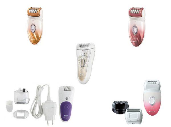 Эпиляторы различных производителей