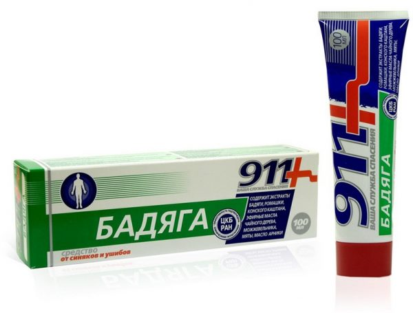 Мазь Бадяга 911