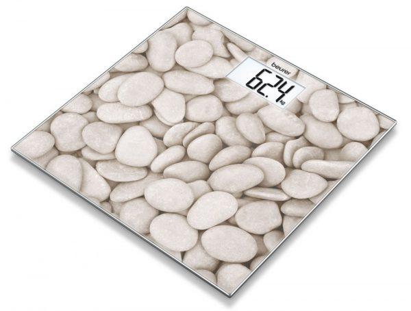 Напольные весы из камня