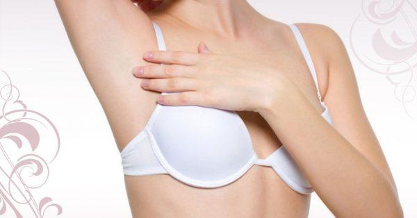 Обработка подмышек кремом