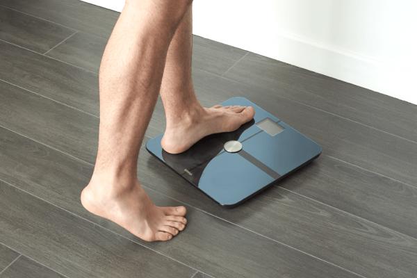 Правильное расположение напольных весов