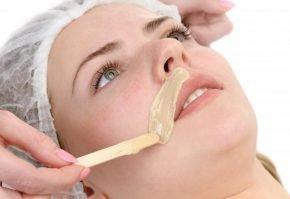 Процедура шугаринга усиков