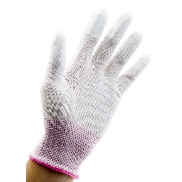 Специальная защитная перчатка для использования совместно с конической плойкой