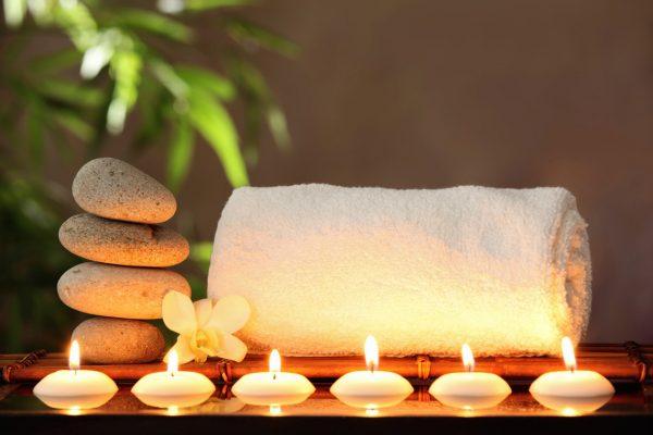 Свечи и масла для массажа