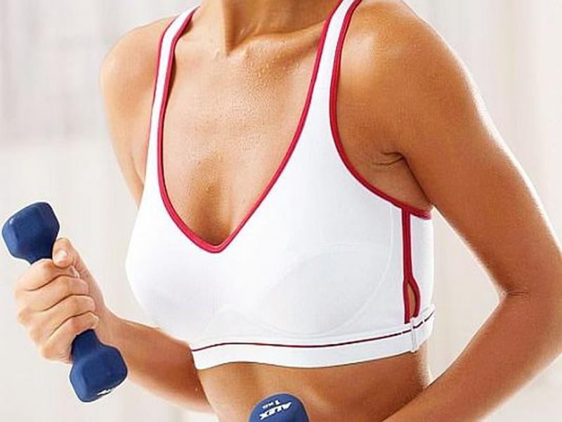 упражнения грудь