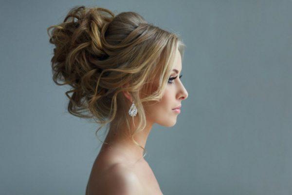 Вечерняя причёска «Итальянская невеста»