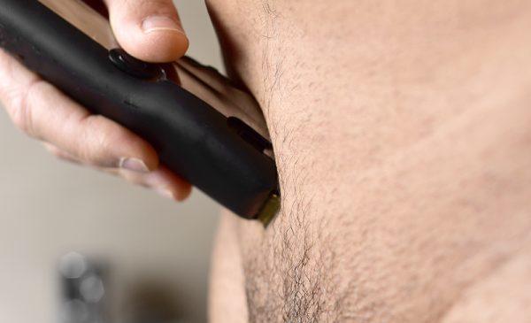 Удаление волос триммером