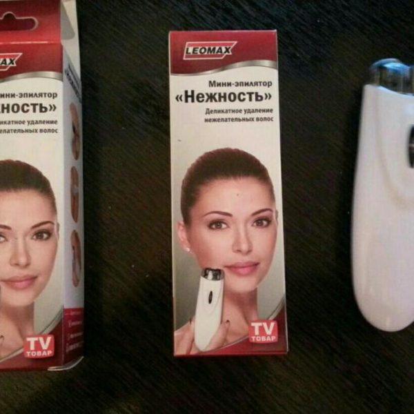 Упаковка эпилятора «Нежность»