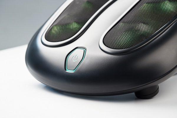 Электромассажёр для ног с нефритовыми роликами