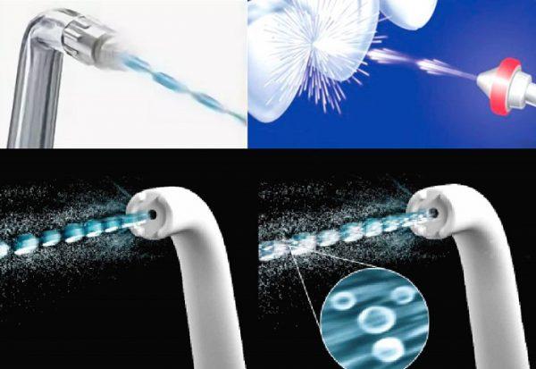 Импульсная технология очистки зубов