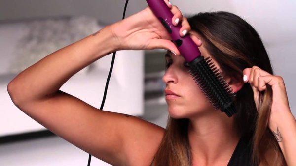 Фен-щётка для длинных волос
