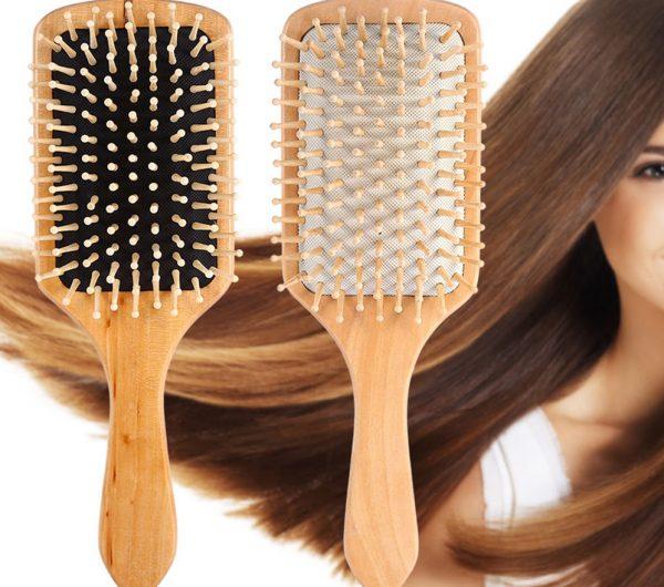 Расчёски с деревянными зубцами