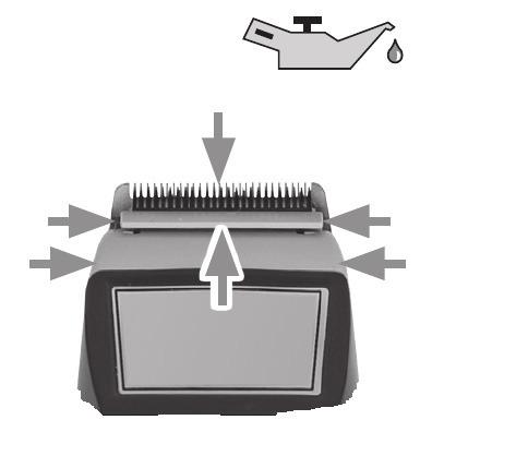 Схема нанесения смазки