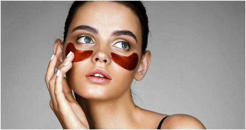 Патчи для глаз - как использовать и рейтинг лучших гидрогелевых, коллагеновых и золотых
