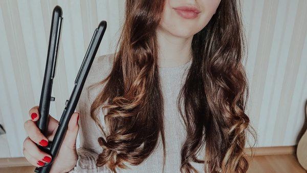 Накрутка волос утюжком