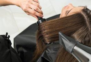 Сушка волос профессиональным феном