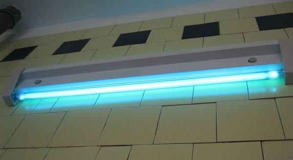 Кварцевая лампа открытого типа